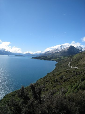 On the road to Glenorchy (and Middle Earth!).