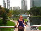 Taking a rest in KLCC. Its a hot, humid, noisey version of Canary Wharf.: by dave_sarah, Views[153]