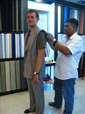 First fitting for new interview suit. Reminder that travels are about to end.: by dave_sarah, Views[269]