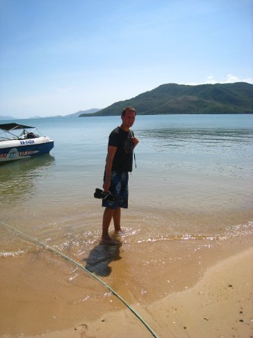 Waiting for the boat in our Islands trip in Nha Trang.