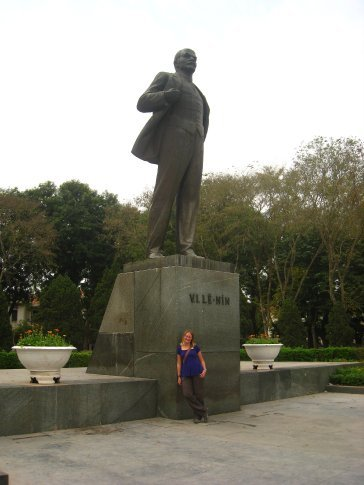 There cant be that many places left in the world where we can get a Lenin statue shot.