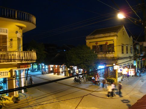 Hoi An old town. Now full of tailors and gift shops.