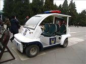 Chinese high speed police errrm golf cart.: by dave_sarah, Views[1705]