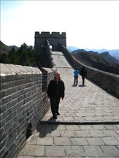 We have just set off on our 10km walk/climb on the Great wall of china.: by dave_sarah, Views[155]