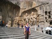 Longman caves and the huge carvings in them. : by dave_sarah, Views[205]