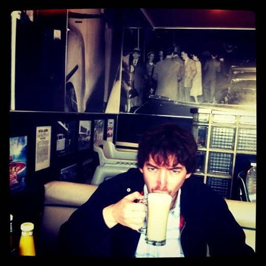 Me, myself and coffee. San Francisco.