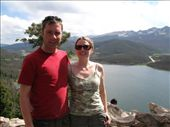View over Dillon lake were had our phot take two years before in winter, haven't aged a bit!: by davidsgibson, Views[160]