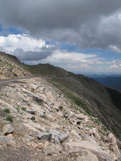 Mt Evans Road, highest in USA!