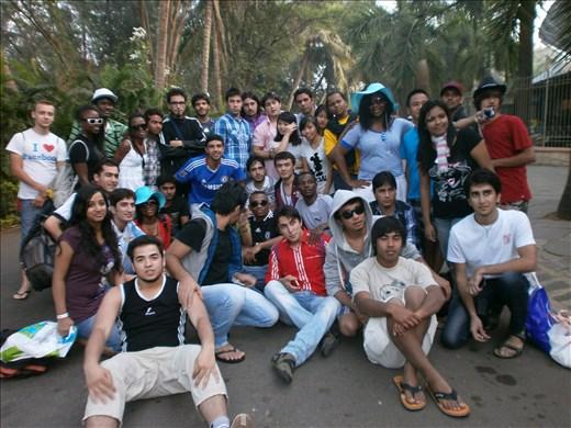 Winter Trip. Mumbai, International Students