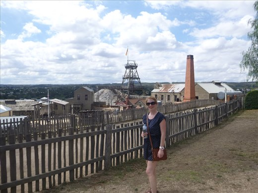 The mine, Sovereign Hill
