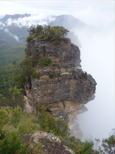 Near the top, 1 of the 3 sisters