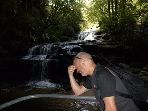 Mark with waterfall fatigue!!