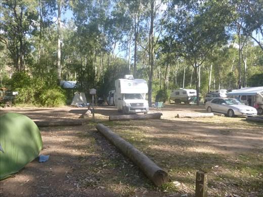 great bush campsite
