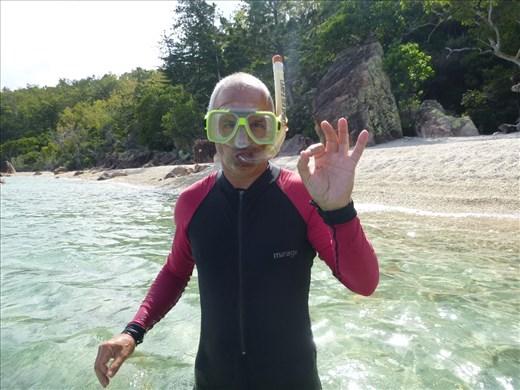snorelling blue coral bay