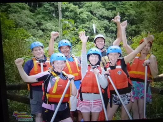 the rafting team