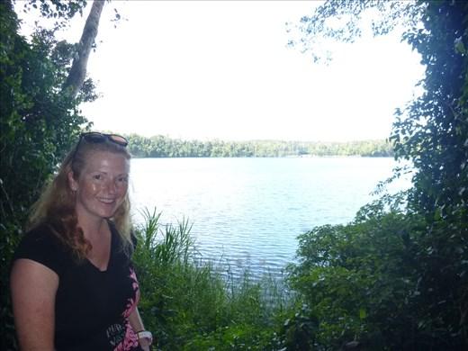Crater lake Eacham