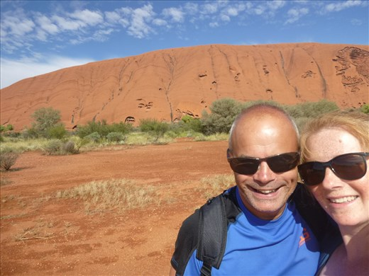 Uluru in normal conditions