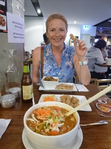 Yummy Thai for tea