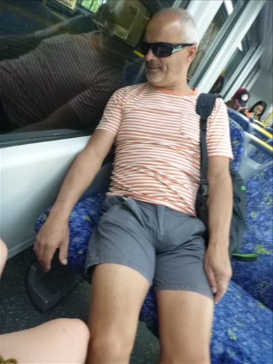 Mark completely touristed out!!