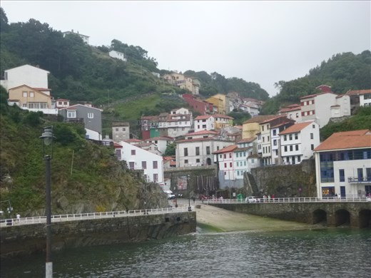 Cudillero from the harbour