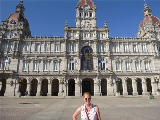 Palace in A Coruna