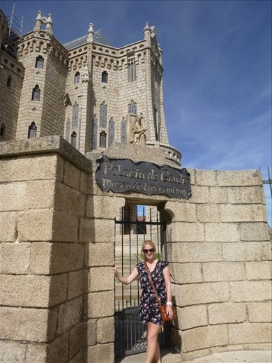 Gaudi designed palace