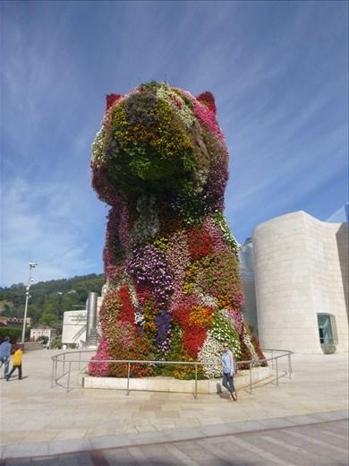 big dog sculpture