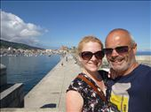 last photo in Spain taken in historic town on the way to the port: by dawnandmark, Views[304]