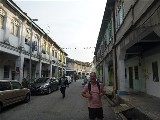 old Chinese shophouses