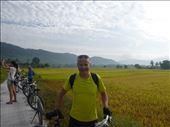 cycling through paddy fields : by dawnandmark, Views[214]