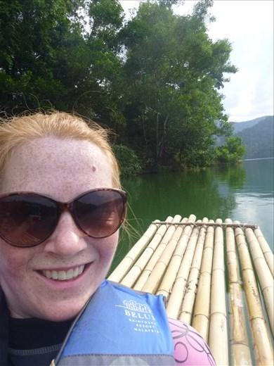 me rafting sat behind mark