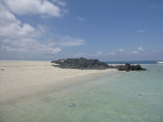 the little island we snorkelled from