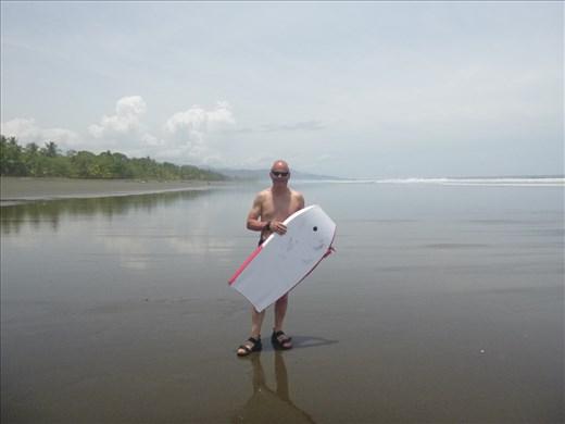 Mark on Matapalo beach