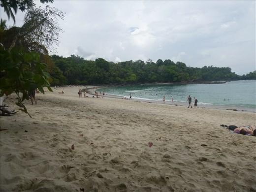 Beach at Antonio Manuel national park