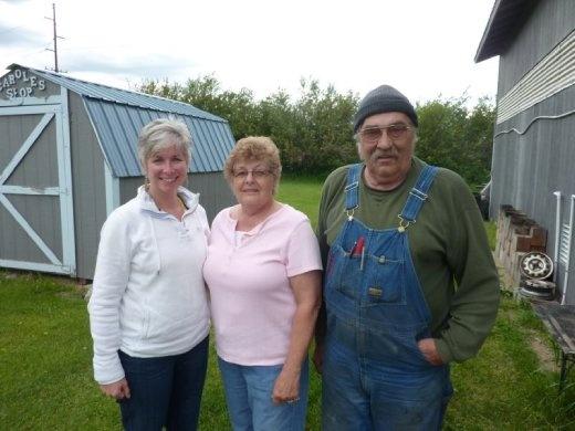 Aunt Carole & Uncle Dick in Usk, Washington