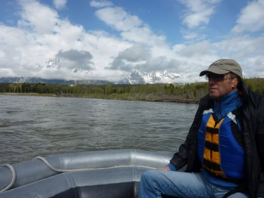 A chilly float down the Snake River in Tetons National Park