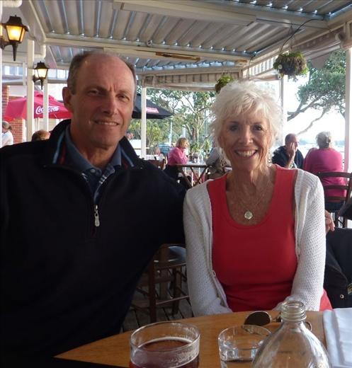 Mom Carole visiting from Maui