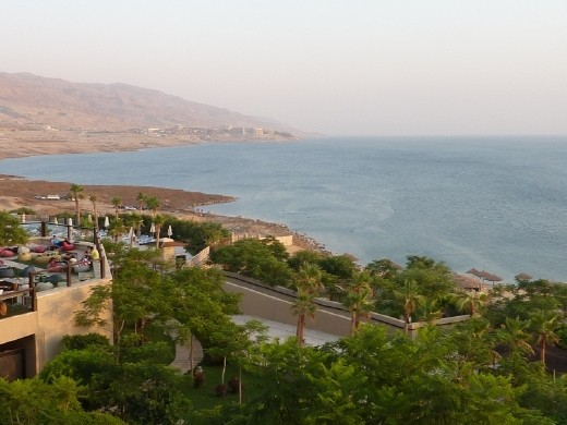 The resort where we stayed at Dead Sea