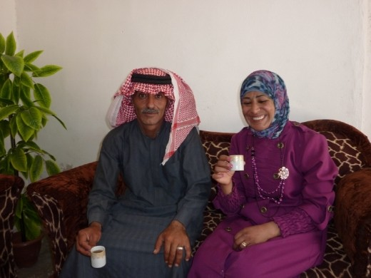 Our Arab friends we picked up at side of road.