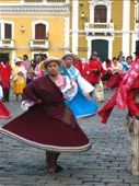 At a traditional Andean dance festival in Quito: by dawnski, Views[498]