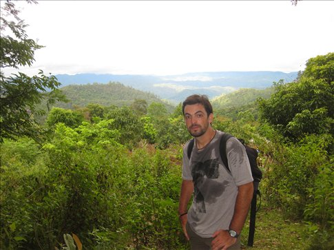 En mig del trekking