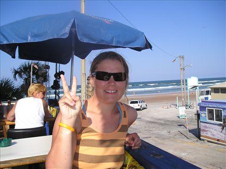 me infront of Daytona Beach