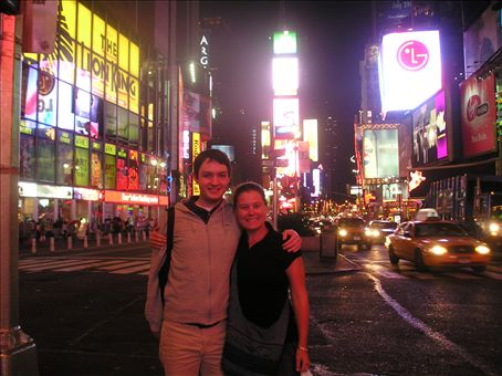 Night Time in Times Square