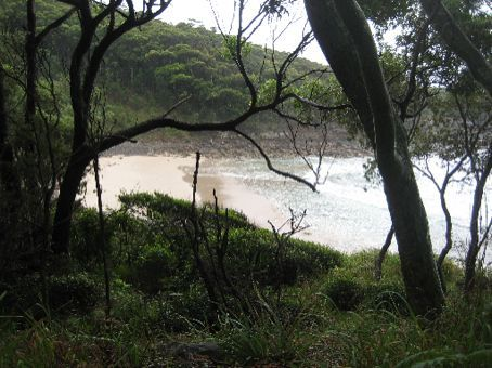 The secluded beaches of NSW