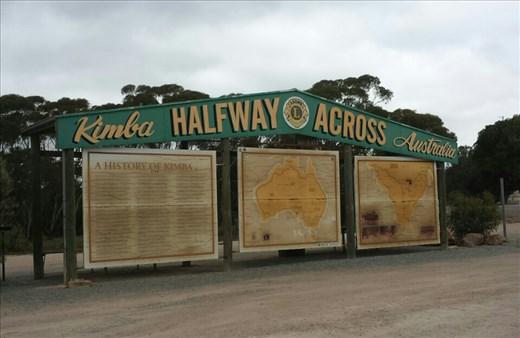 At Kimba SA. Half way point across Oz