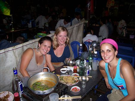 HotPot in the market, a good night