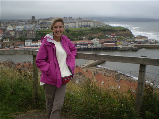 Whitby Harbor from top of 199 steps