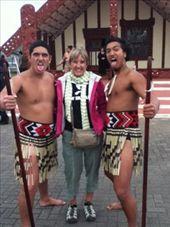 Carolyn with 2 Maori Warrios: by deepsouthrugby, Views[693]
