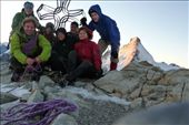 ... and then sunrise on the top of the Tete Blanche! :): by dentedileone, Views[366]
