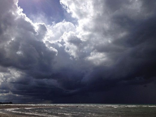 5. A study by the Lake Huron Centre for Coastal Conservation, examining the possible effects of climate change, indicated that in the future, the region can expect more intense storms, both winter and summer, including frequent, extreme precipitation.